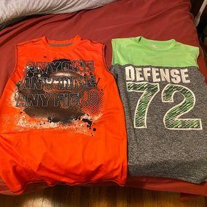 Bundle of 2 boys sleeveless shirts, size XL-XXL.